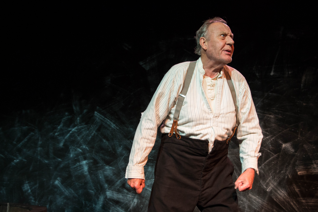 Malcolm Rennie in Shackleton's Carpenter. Photo by Robert Workman.
