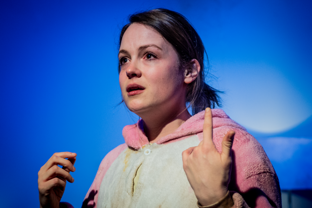 Kimberley Nixon in Original Death Rabbit. Photo by Robert Workman.