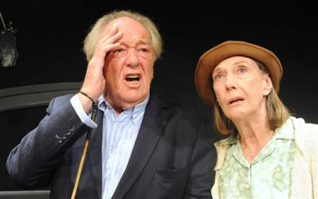 Michael Gambon & Eileen Atkins in All That Fall. Photo by Roy Tan.