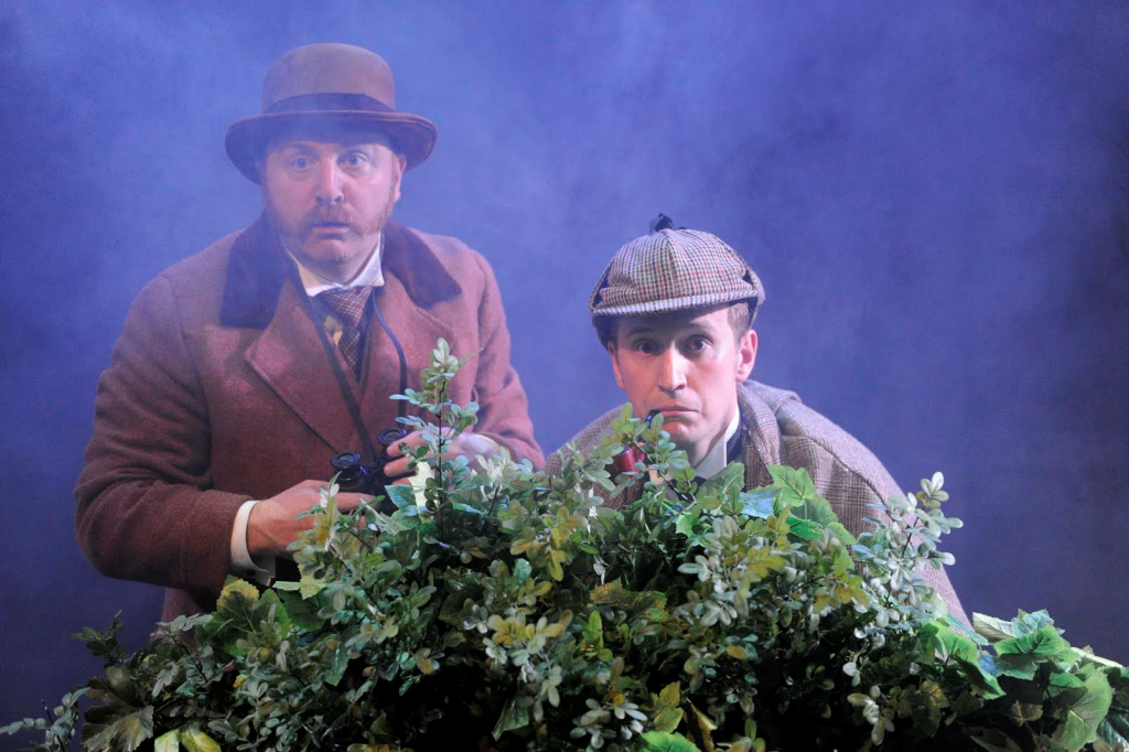 Simon Kane & Max Hutchinson in The Hound of the Baskervilles. Photograph by Martin Kaufhold.
