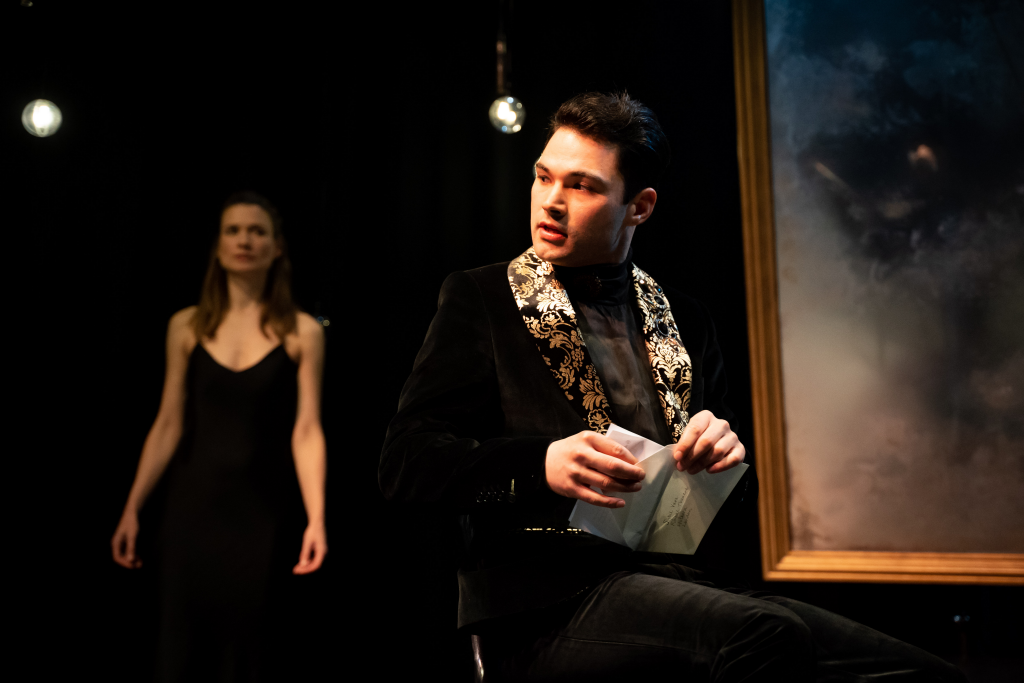 Stanton Wright in Pictures of Dorian Gray. Photograph by Sam Taylor.